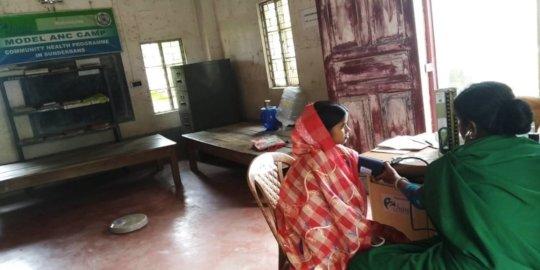 Model Antenatal Camps for Pregnant Women