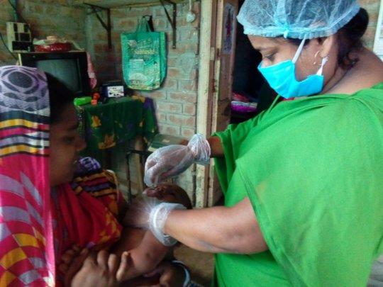 Vaccinations at Door Steps