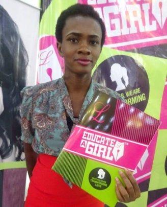 Chimezie, Educate a Girl in Nigeria # 100