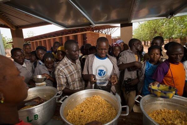 Empower 8 children in Burkina Faso helping 96 more