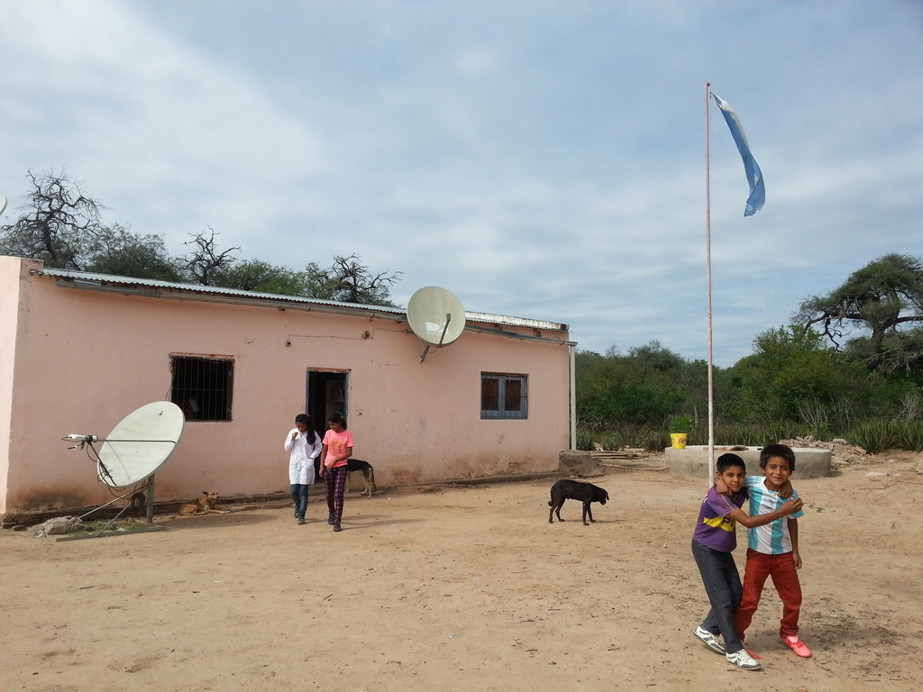 Build a kitchen to feed a school in Chaco