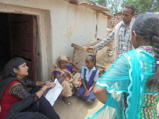 Educate 100 primary girls in Backward areas, India