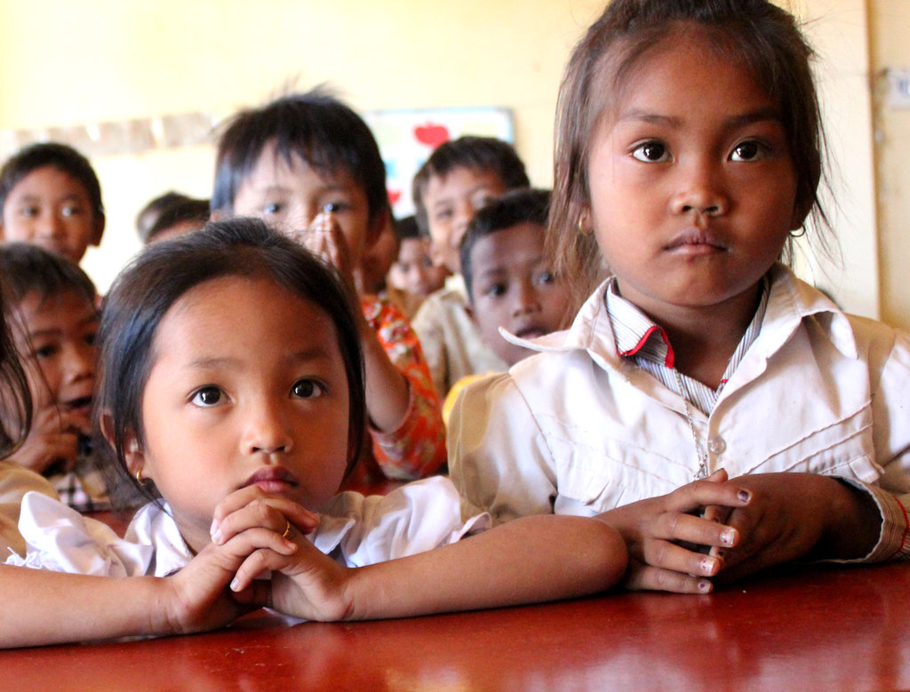 Educate Girls in Svay Rieng, Cambodia