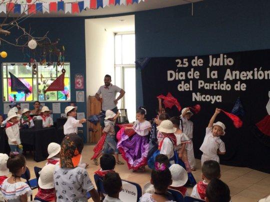 """Traditional dance """"El Torito"""" (The Small Bull)"""