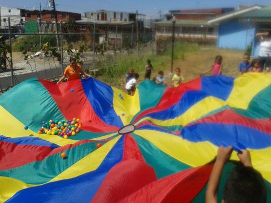The teachers planned fun activities!