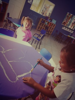 More fun activities inside the classroom!