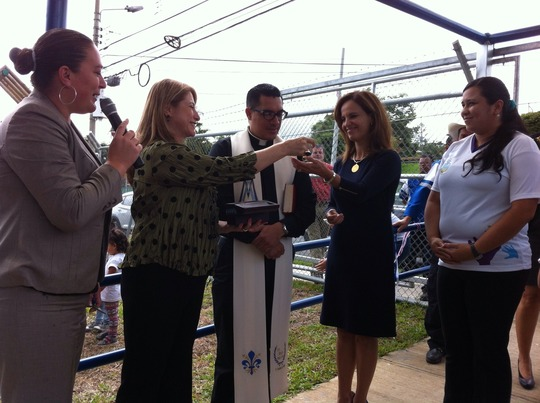 Opening Day! Blessing of the child center