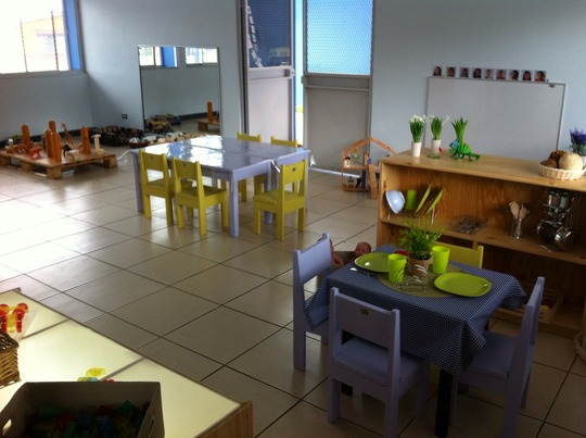 Highly equipped classrooms