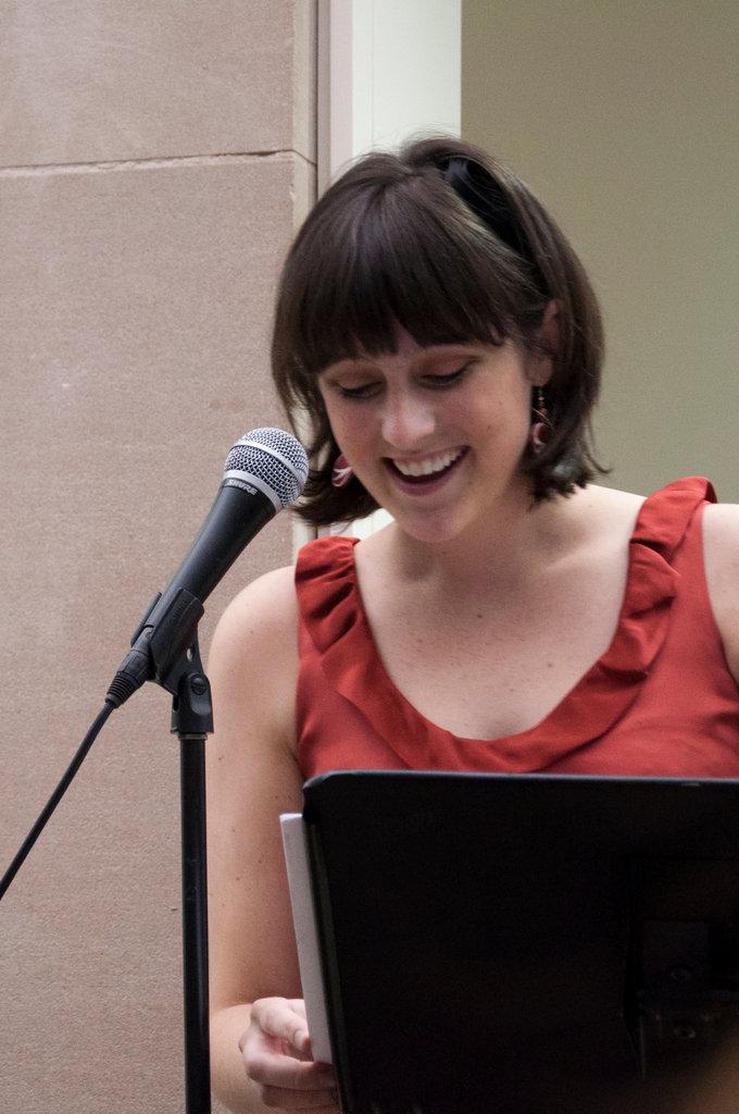 Co-president Katie Smiley