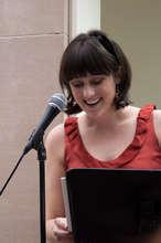 Co-president Katie Smiley's senior speech