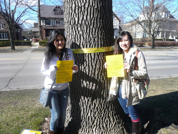 Spreading Awareness on Campus!