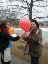 WDSJ balloon campaign