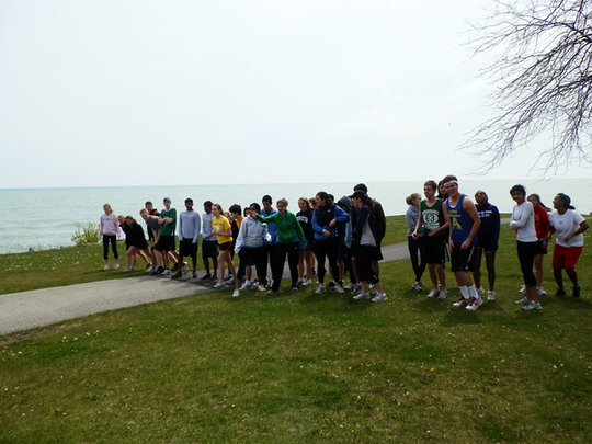 GlobeMed at Northwestern 5K Fun Run!