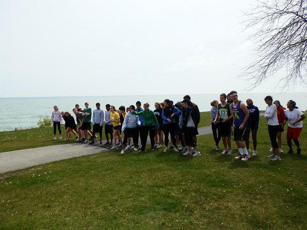 GlobeMed at Northwestern 5K Fun Run!