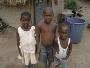 Children in Ando village