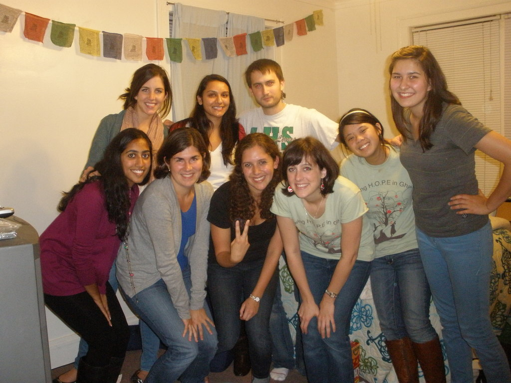 Some members of the 2010-2011 executive board