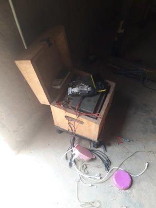 Battery box of the LED shared Light for households