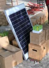 Solar Light Kit for Family Compounds