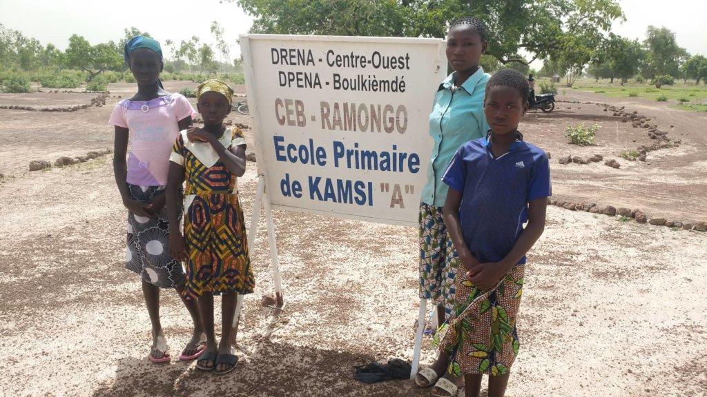 Educating girls toward solar, Kamsi Primary School