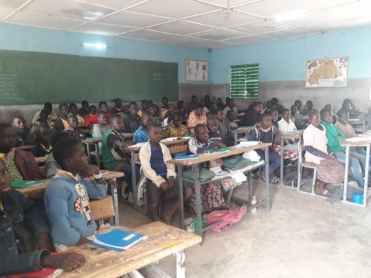 Students in Classroom Jan 9, 2020