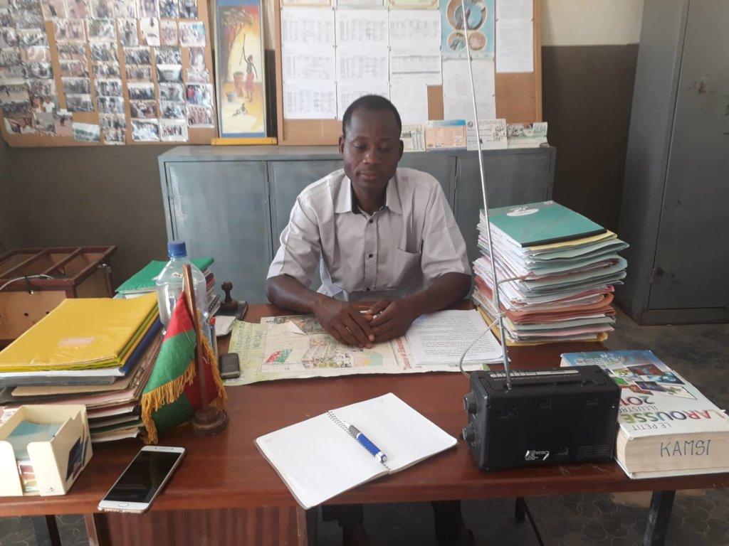 Djiguimde, the School Director