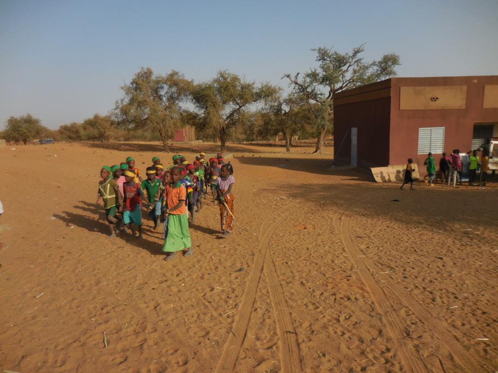 Djomga Primary School Students
