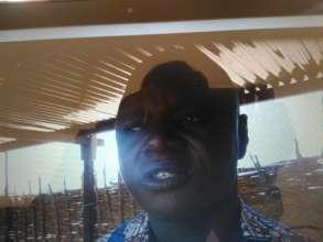 Mr. Pamoussa, School Director, Djomga