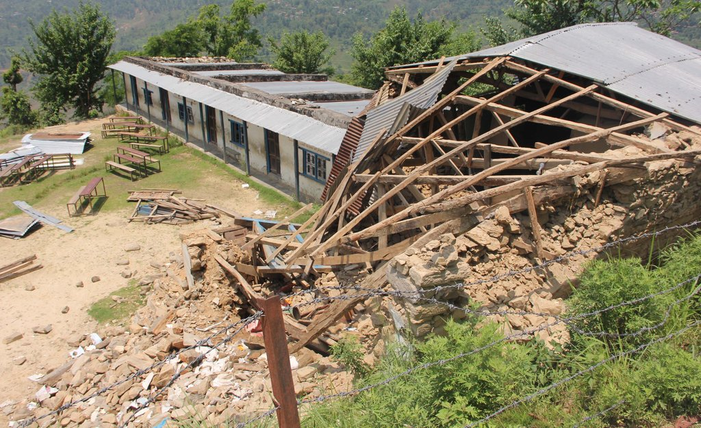 Rebuild School for 479 Nepalese Children
