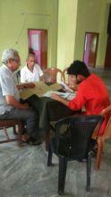 Meeting with globalgiving representative