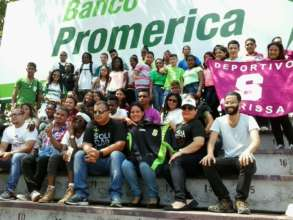 Fundacion Saprissa Lets go to the Stadium visit