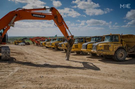 Photo 1: Bulldozers (credit: Jenny Nyman)
