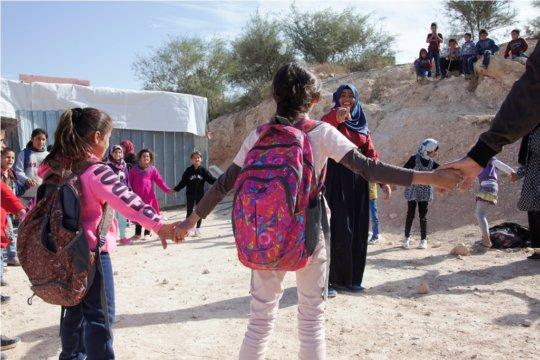 Keeping spirits up in Umm al-Hiran