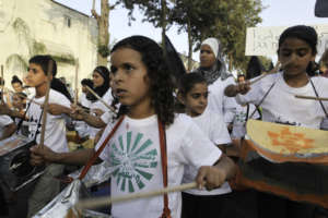 The young in Ramle protest home demolitions