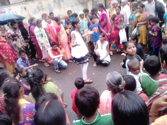 Awareness Program:Street play about Education