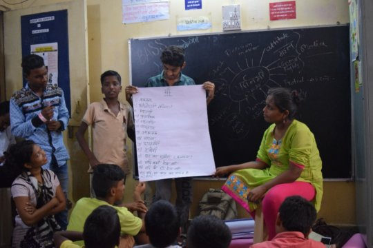 Workshop on gender and patriarchy