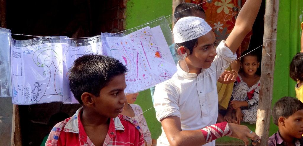 Transform childhoods of 300 slum children in India