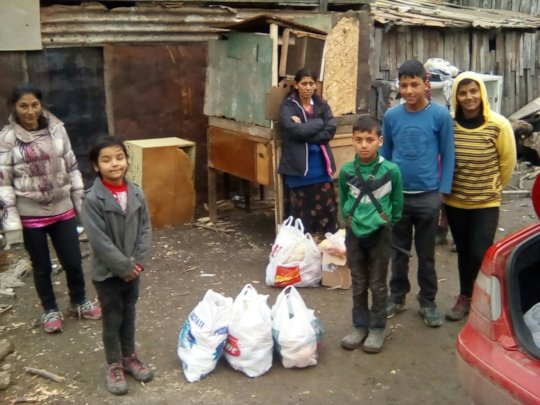 Food for the children and their families