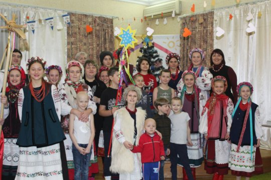 Holidays celebration at the Dacha