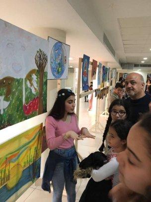 Exhibition of our children artwork