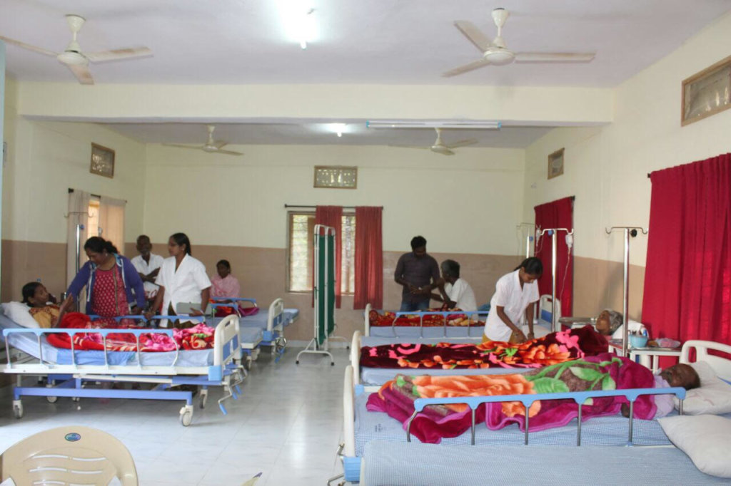 1st Palliative care centre in the community