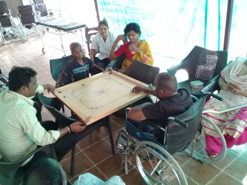 Recreation  for hospice patients