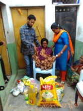 Food for survival for a home care patient