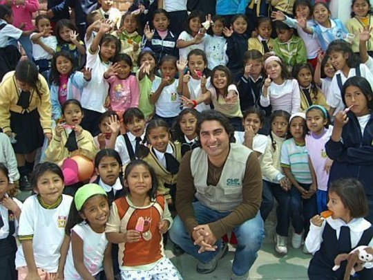 CHF with Children it Housed in Peru