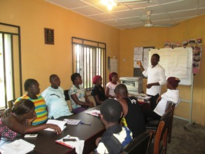Groups Rep. & ARRDEC staff at Pre-training session
