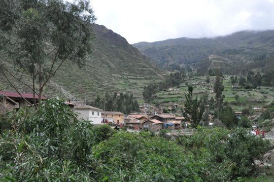 A view of Huilloc, Teresa's community