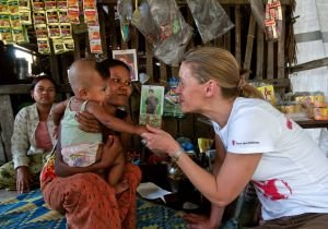 Our work in Myanmar continues.