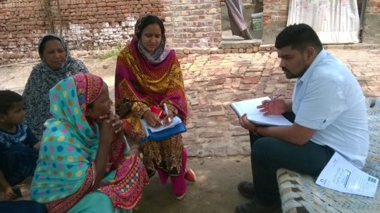 Interviews (Survey of the Beneficiaries)