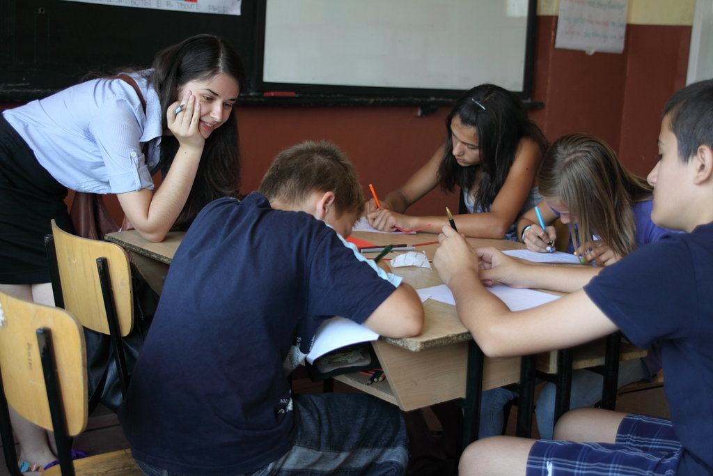 Young teachers for the kids in North East Bulgaria