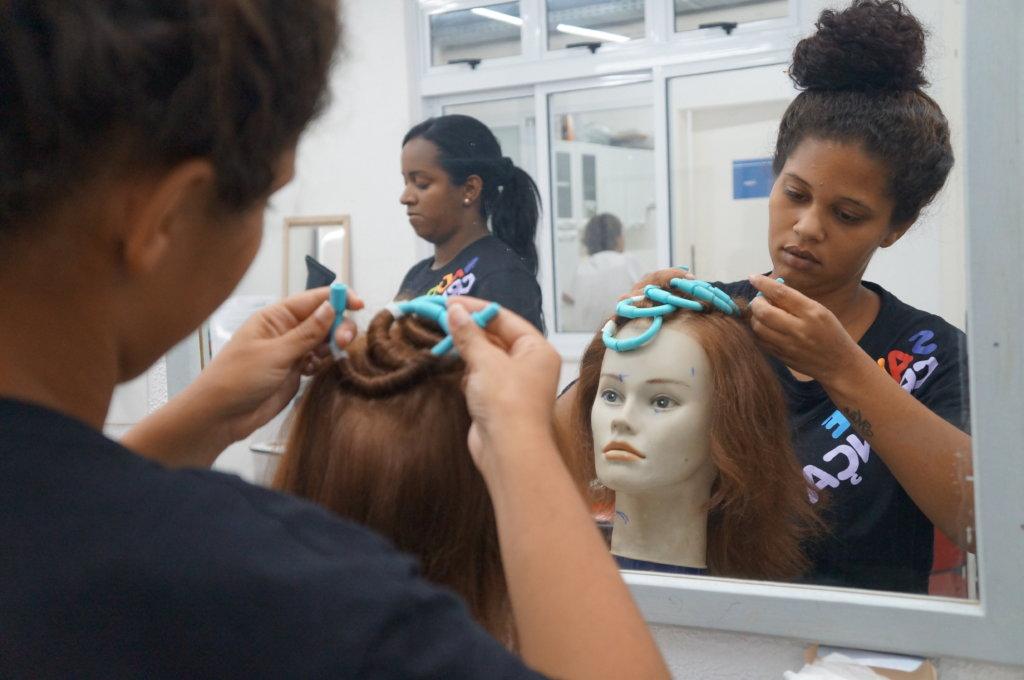 Job Training for poor mother- sick children Brazil