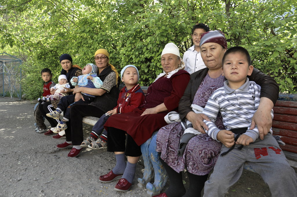 Playground for Disabled Children in Kyrgyzstan